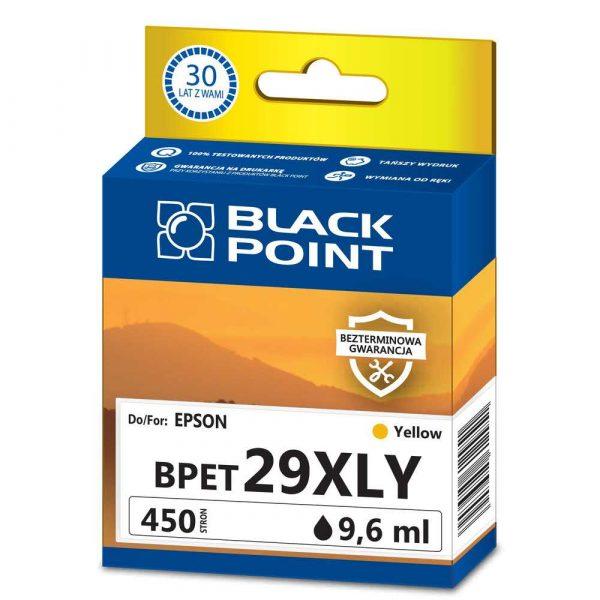 tusz zamienny 3 alibiuro.pl BPET29XLY Ink Tusz BP Epson C13T29944012 BlackPoint BPET29XLY SGE29BKY 12