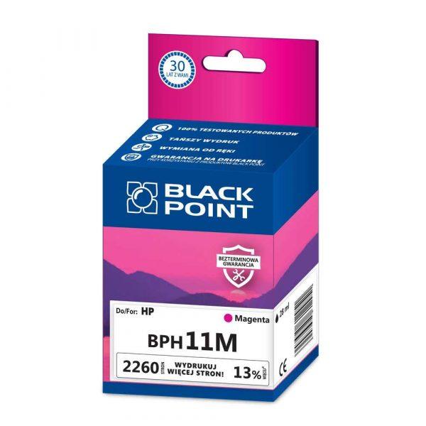 tusz zamienny 3 alibiuro.pl BPH11M Ink Tusz BP HP BLIS BlackPoint BPH11M SGH4837BGMW 38