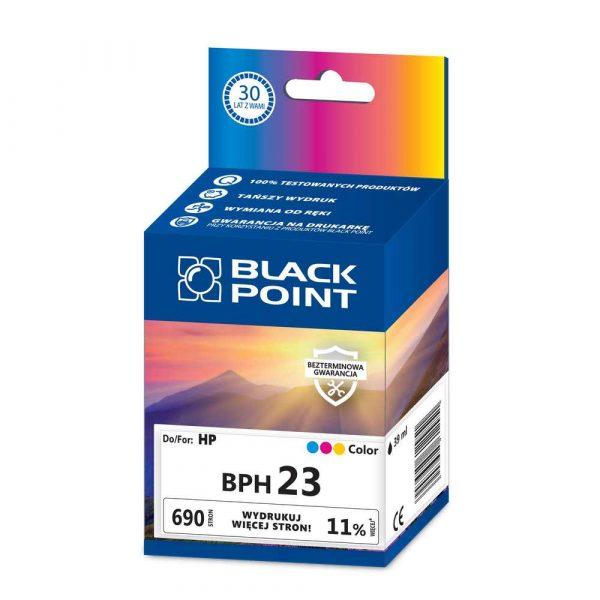 tusz zamienny 3 alibiuro.pl BPH23 Ink Tusz BP HP BLIS BlackPoint BPH23 SGH0890BGKW 81