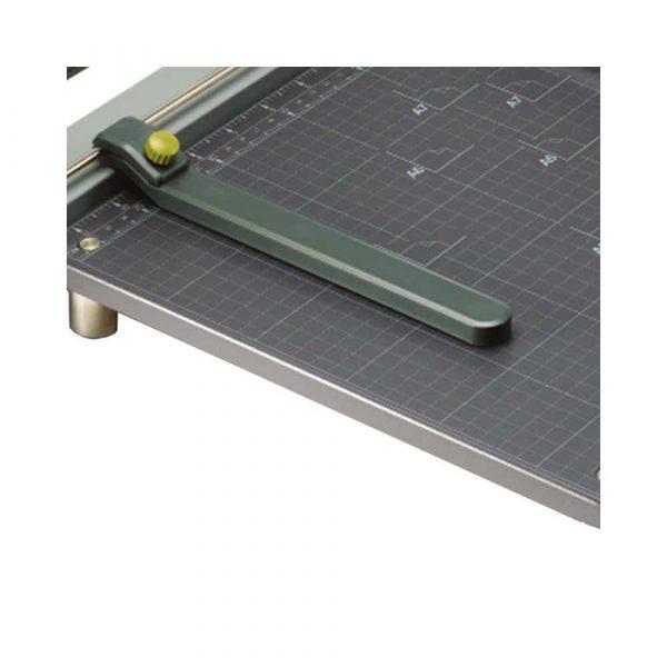urządzenia biurowe 4 alibiuro.pl Gilotyna do papieru REXEL ClassicCut CL410 A4 dł. cięcia 39cm srebrna 4