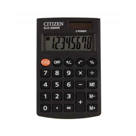 urządzenia biurowe 4 alibiuro.pl Kalkulator kieszonkowy CITIZEN SLD 200NR 8 cyfrowy 98x62mm czarny 87
