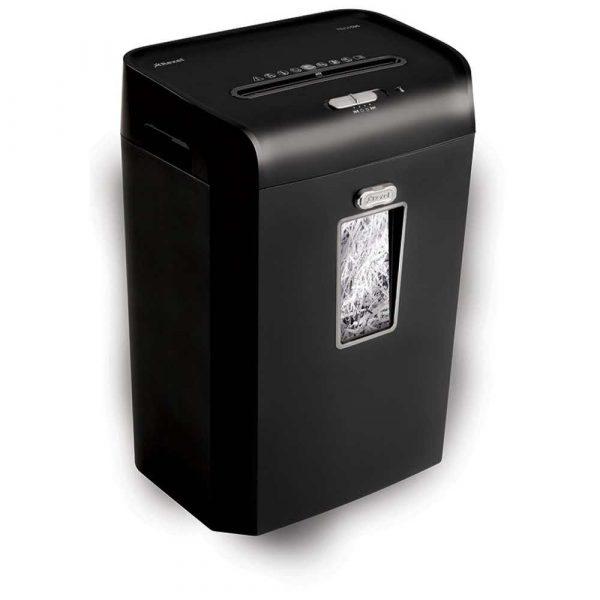 urządzenia biurowe 4 alibiuro.pl Niszczarka REXEL Promax RSS1535 paski P 2 15 kart. 35l karty kredytowe czarna 95