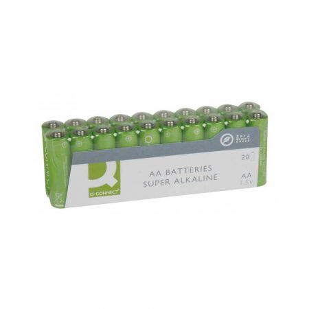 urządzenia elektryczne 4 alibiuro.pl Baterie super alkaliczne Q CONNECT AA LR06 1 5V 20szt. 62