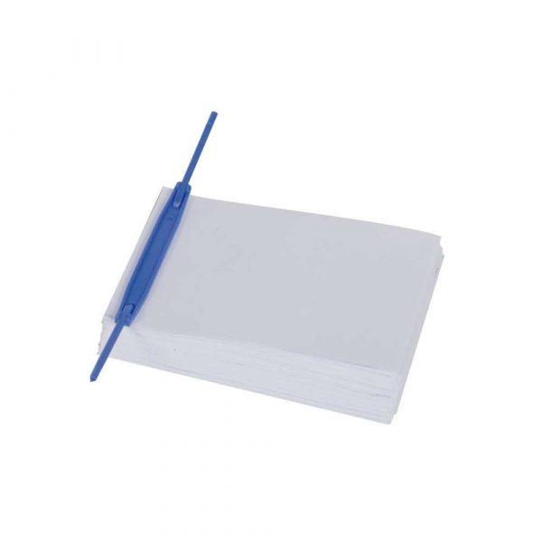 wąsy skoroszytowe 4 alibiuro.pl Klipsy archiwizacyjne Q CONNECT E Clip grubość pliku max. 7cm niebieski 35