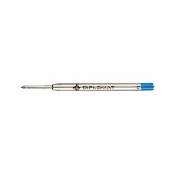 wkład do długopisów 4 alibiuro.pl Wkład do długopisu DIPLOMAT do serii Excellence A Plus Excellence A2 Aero Optimist Esteem Traveller Magnum M niebieski 12
