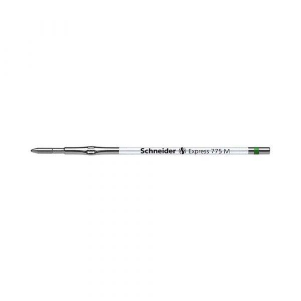 wkłady do długopisów 4 alibiuro.pl Wkład Express 775 do długopisu SCHNEIDER M format X20 zielony 56
