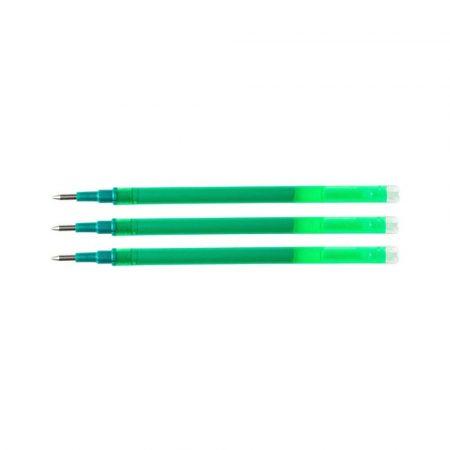 wkłady do długopisów 4 alibiuro.pl Wkład do długopisu wymazywalnego Q CONNECT 1 0mm 3szt. zawieszka zielony 71