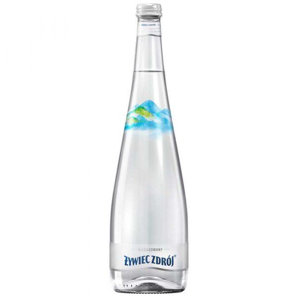 woda lekko gazowana 4 alibiuro.pl Woda ŻYWIEC ZDRÓJ niegazowana butelka szklana 0 7l 15