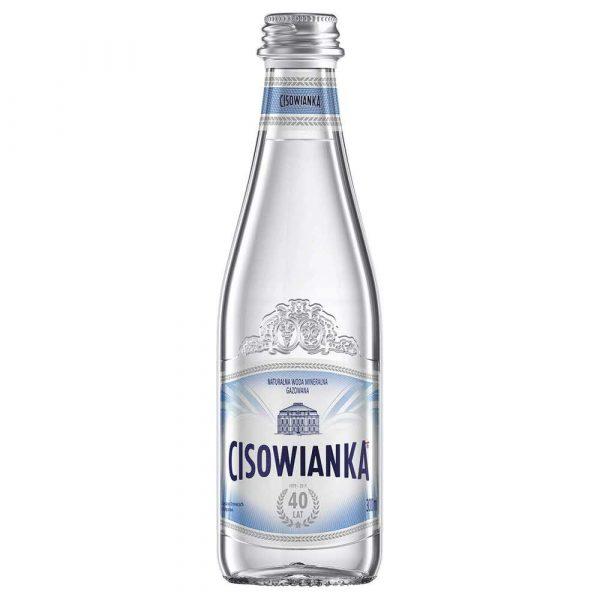 woda lekko gazowana 4 alibiuro.pl Woda CISOWIANKA Jubileuszowa gazowana butelka szklana 0 3l 24