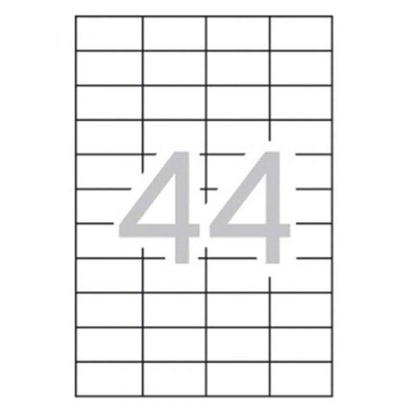 zakładki indeksujące 4 alibiuro.pl Etykiety uniwersalne APLI 48 5x25 4mm prostokątne białe 10 ark. 40