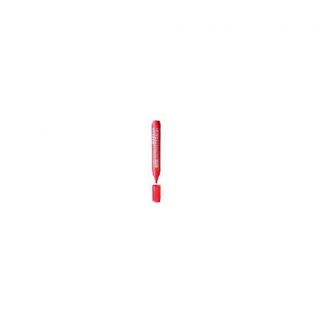 zakreślacz 1 alibiuro.pl 3160 Marker suchościeralny okrągła końcówka D.RECT czerwony 42