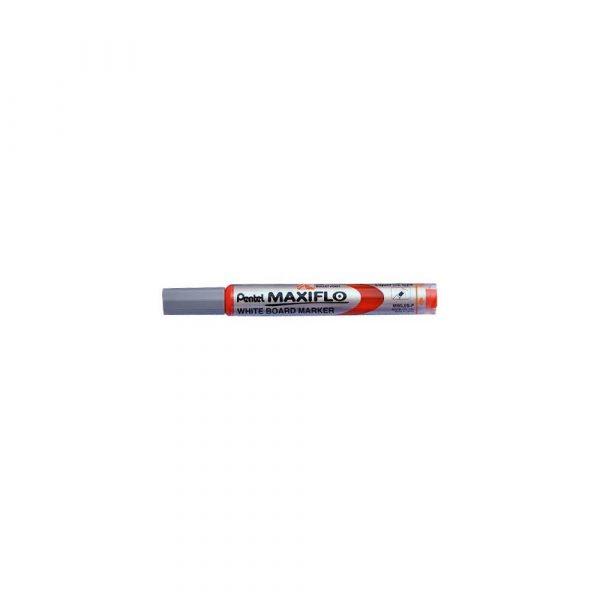 zakreślacz 1 alibiuro.pl MWL5S Marker suchościeralny Maxiflo Pentel czerwony 3