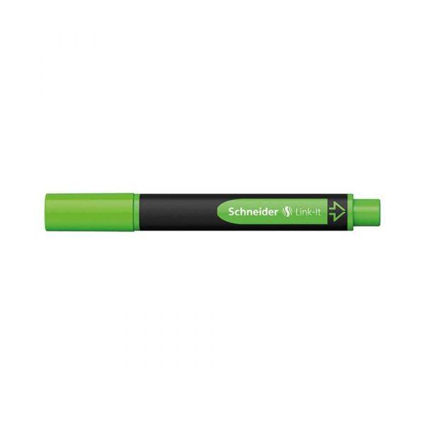 zakreślacz biurowy 4 alibiuro.pl Zakreślacz SCHNEIDER Link It 1 4mm zielony 17