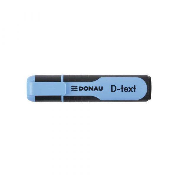 zakreślacz biurowy 4 alibiuro.pl Zakreślacz fluorescencyjny DONAU D Text 1 5mm linia niebieski 24