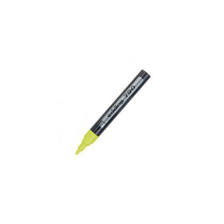 zakreślacze 1 alibiuro.pl Marker lakierowy olejowy 790 z okrągłą końcówką 2 3 mm Edding żółty 44