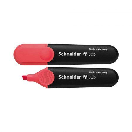 zakreślacze biurowe 4 alibiuro.pl Zakreślacz SCHNEIDER Job 1 5 mm czerwony 37
