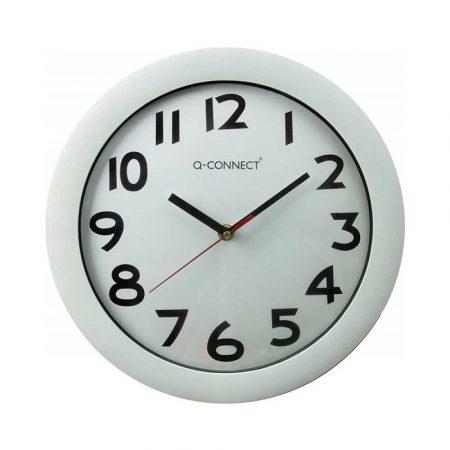 zegar ścienny 4 alibiuro.pl Zegar ścienny Q CONNECT Budapest 30cm biały 4