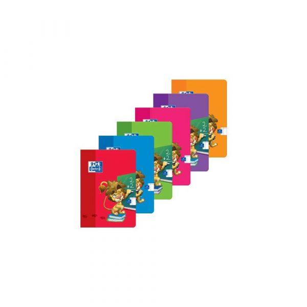 zeszyty 1 alibiuro.pl A5 16 kartek zeszyt w linię LION w oprawie broszurowej OXFORD 400106953 29