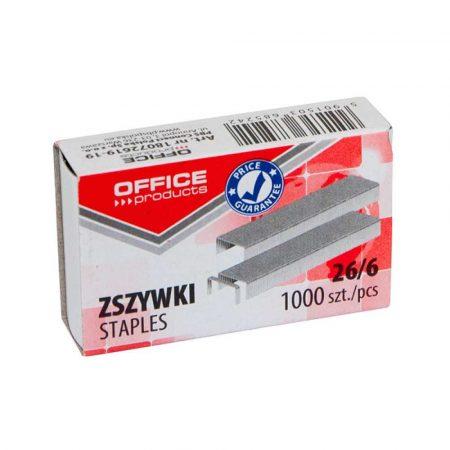 zszywki 4 alibiuro.pl Zszywki OFFICE PRODUCTS 26 6 1000szt. 18