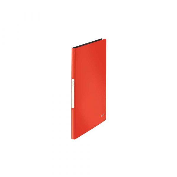 akcesoria biurowe 5 alibiuro.pl Album ofertowy Leitz Solid jasnoczerwony 8