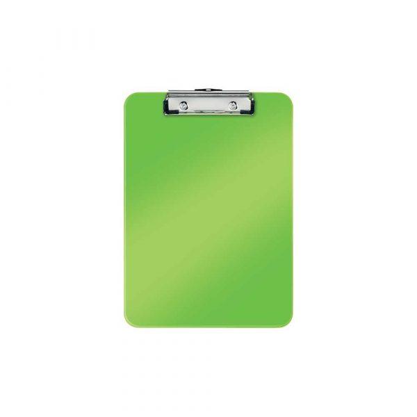 akcesoria biurowe 5 alibiuro.pl Deska z klipsem Leitz WOW zielony 34
