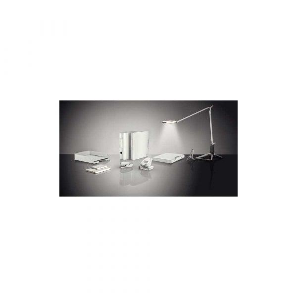 akcesoria biurowe 5 alibiuro.pl Dziurkacz duży metalowy Leitz NeXXt Style arktyczna biel 86
