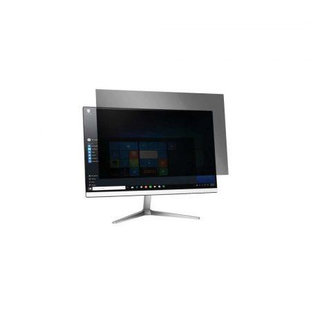 akcesoria biurowe 5 alibiuro.pl Filtr prywatyzujący Kensington do monitora o przekątnej ekranu 238 Inch format 16 9 zaciemniający z 2 boków zakładany czarny 71