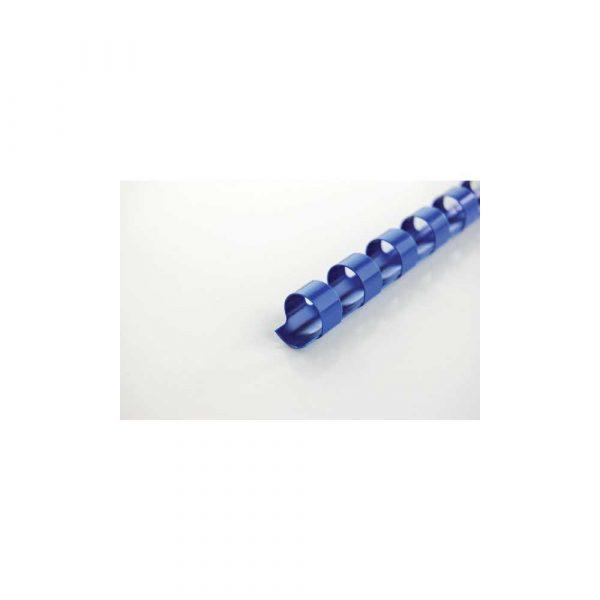 akcesoria biurowe 5 alibiuro.pl Grzbiety plastikowe GBC CombBind niebieski 46