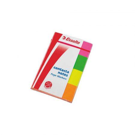 akcesoria biurowe 5 alibiuro.pl Indeksy samoprzylepne Contacta mix 47