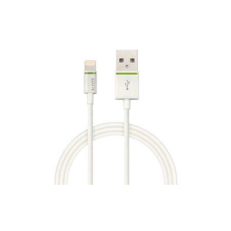 akcesoria biurowe 5 alibiuro.pl Kabel Leitz Complete ze złącza Lightning na USB 1 m biały 38