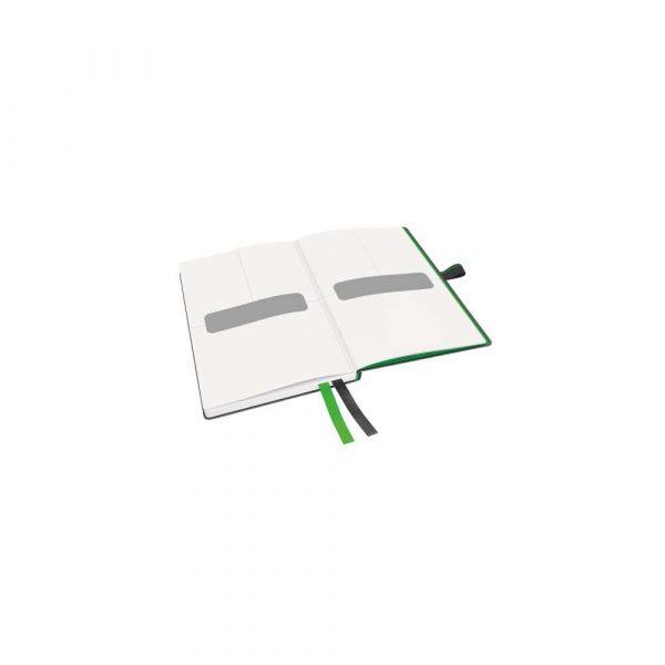 akcesoria biurowe 5 alibiuro.pl Notatnik Leitz Complete A6 w linie z twardą okładką czarny 32