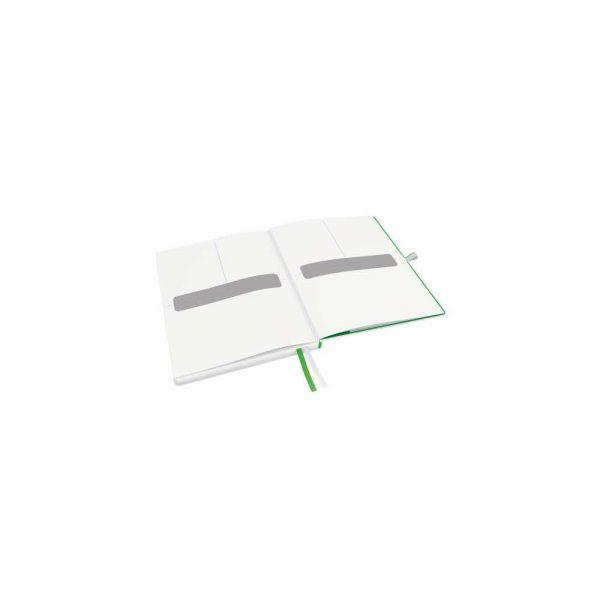 akcesoria biurowe 5 alibiuro.pl Notatnik Leitz Complete w formacie iPada w linie z twardą okładką biały 88