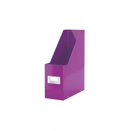 akcesoria biurowe 5 alibiuro.pl Pojemnik na czasopisma Leitz Click Store WOW fioletowy 7