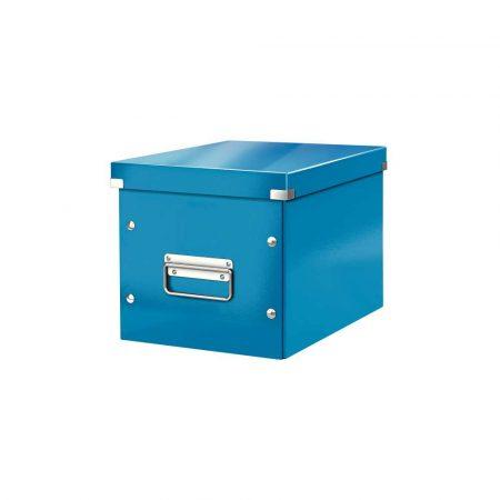 akcesoria biurowe 5 alibiuro.pl Pudło do przechowywania Leitz Click Store WOW Cube rozmiar M niebieski 5