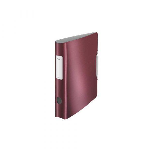 akcesoria biurowe 5 alibiuro.pl Segregator Leitz 180 Active Style rubinowa czerwień 84