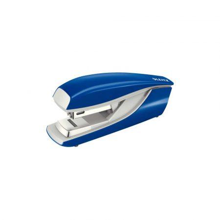akcesoria biurowe 5 alibiuro.pl Zszywacz Flat Clinch średni metalowy Leitz NeXXt niebieski 26