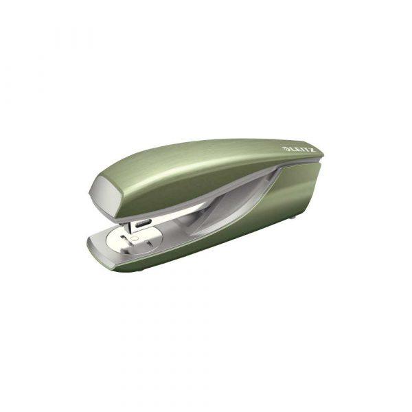 akcesoria biurowe 5 alibiuro.pl Zszywacz średni metalowy Leitz NeXXt Style pistacjowa zieleń 33