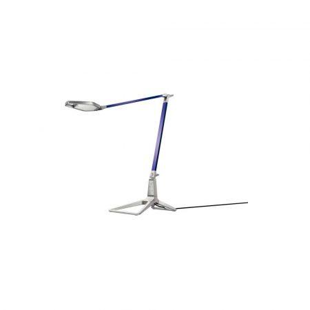 artykuły biurowe 5 alibiuro.pl Lampa na biurko Leitz Style Smart LED tytanowy błękit 91