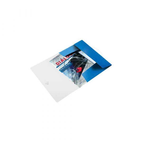 artykuły biurowe 5 alibiuro.pl Teczka z gumką Leitz WOW 15 mm niebieski 5