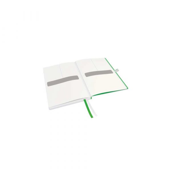 artykuły papiernicze 5 alibiuro.pl Notatnik Leitz Complete A5 w kratkę z twardą okładką biały 24