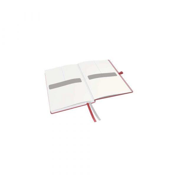 artykuły papiernicze 5 alibiuro.pl Notatnik Leitz Complete A5 w kratkę z twardą okładką czerwony 21