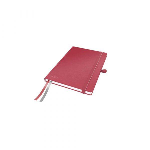 artykuły papiernicze 5 alibiuro.pl Notatnik Leitz Complete A5 w kratkę z twardą okładką czerwony 77