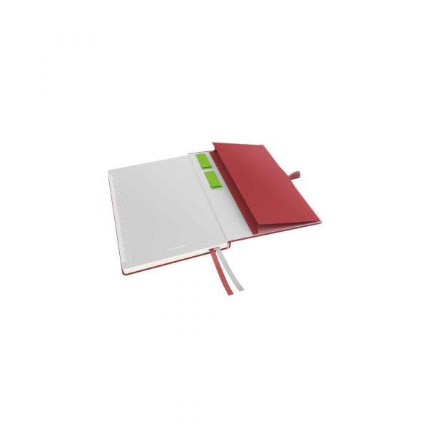 artykuły papiernicze 5 alibiuro.pl Notatnik Leitz Complete A5 w linie z twardą okładką czerwony 84