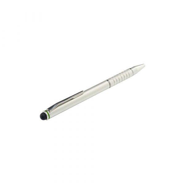 artykuły szkolne 5 alibiuro.pl Długopis Leitz Complete 2 w 1 Stylus do urządzeń z ekranem dotykowym srebrny 65