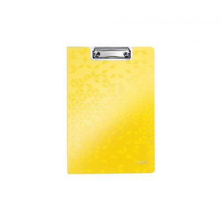 clipboardy 5 alibiuro.pl Deska z klipsem i okładką Leitz WOW żółty 19