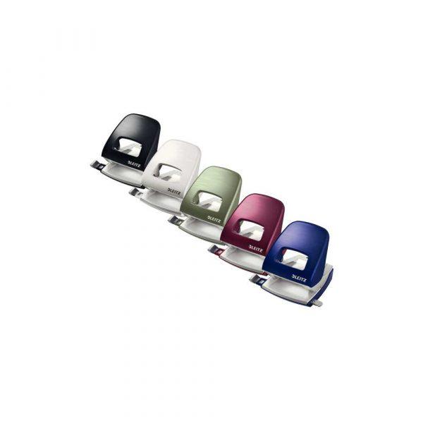 dziurkacz na biurko 5 alibiuro.pl Dziurkacz duży metalowy Leitz NeXXt Style arktyczna biel 43