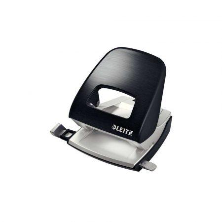 dziurkacz na biurko 5 alibiuro.pl Dziurkacz duży metalowy Leitz NeXXt Style satynowa czerń 38