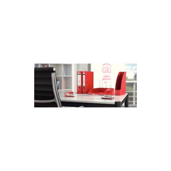 dziurkacz na biurko 5 alibiuro.pl Dziurkacz duży metalowy Leitz New NeXXt czerwony 4