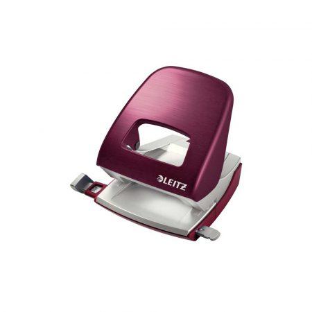 dziurkacze biurowe 5 alibiuro.pl Dziurkacz duży metalowy Leitz NeXXt Style rubinowa czerwień 33