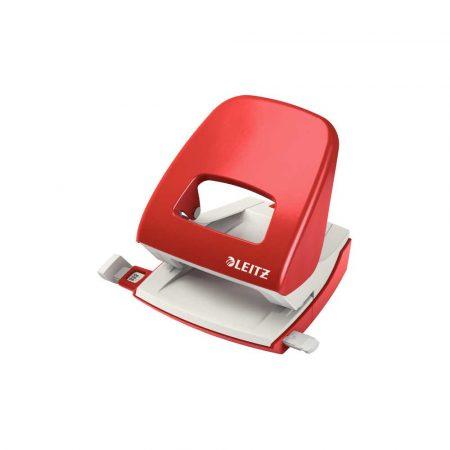 dziurkacze na biurko 5 alibiuro.pl Dziurkacz duży metalowy Leitz New NeXXt czerwony 14